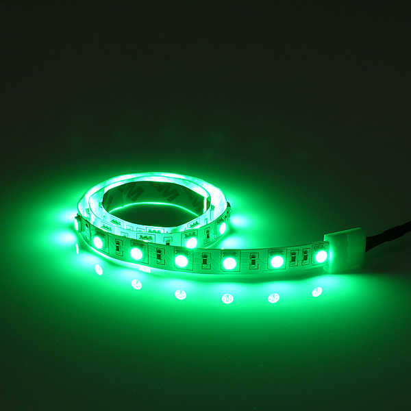 Flexible LED Leiste grün mit 60 Top LEDs/m