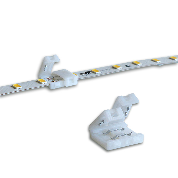 Direct connector for flexible LED Strips with 10mm width.