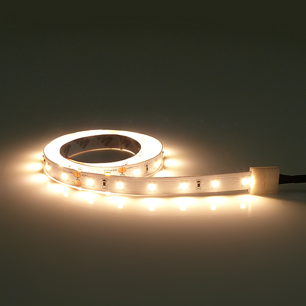 Flexible LED Leiste warm weiß mit 60 Flat Top LEDs/m