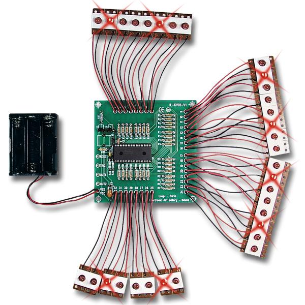 Programmierbare Microcontroller LED-Einheit CAP32-32L